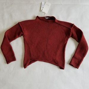 Zara Knit Diagonal Sweater